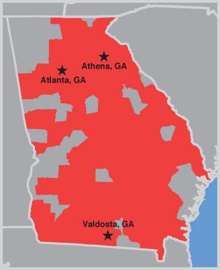 Fairway Georgia - Where is athens located