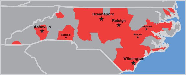 Gastonia nc to greensboro nc